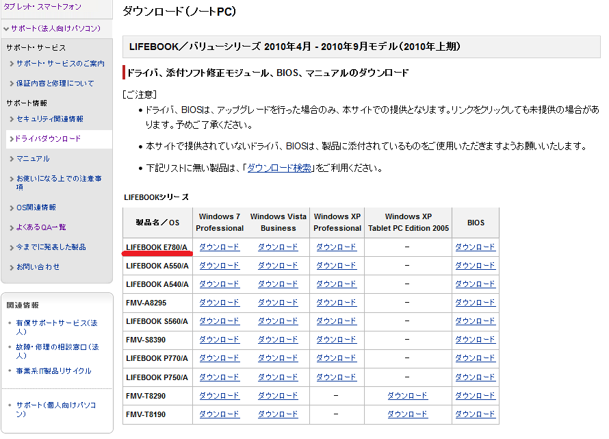 富士通E780Aドライバー2.png